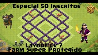 getlinkyoutube.com-Layout Cv 7 Super Protegido Farm  / Especial 50 inscritos