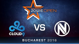 getlinkyoutube.com-CS:GO - Cloud9 vs. EnVyUs - Dust2 - Semi Finals - DreamHack ZOWIE Open Bucharest 2016