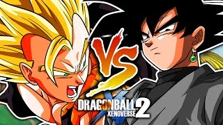 getlinkyoutube.com-Super Gogeta VS Goku Black - Dragon Ball Xenoverse 2