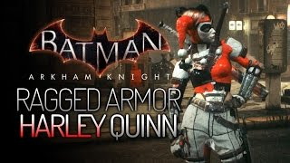 getlinkyoutube.com-Batman: Arkham Knight Mods - Ragged Armor Harley Quinn