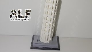 getlinkyoutube.com-Lego Architecture 21015 The Leaning Tower of Pisa / Schiefe Turm von Pisa - Lego Speed Build Review