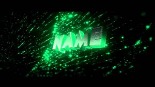 getlinkyoutube.com-FREE After Effects & Cinema 4D Intro Template: Green 3D Intro #317