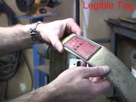 Stren-Flex Sling Inspection Video