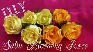 D.I.Y. Satin Blooming Rose Tutorial   MyInDulzens
