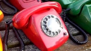 getlinkyoutube.com-PTT type T65 - Vintage (Rotary) Telephones