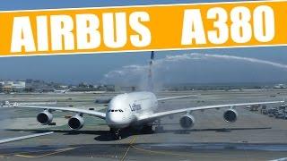 getlinkyoutube.com-Airbus A380 espectacular aterrizaje en San Francisco (El Mejor Video)