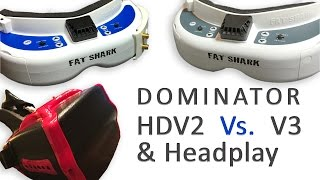 getlinkyoutube.com-Fat Shark HD V2 Vs. V3 & Headplay Goggles - Review - The Jade Vlog Ep9