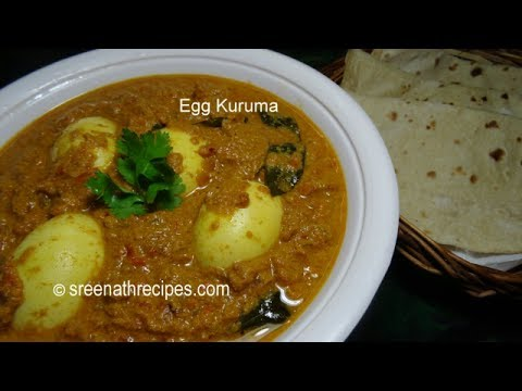 Egg Kuruma - Egg Korma - Mutta Curry