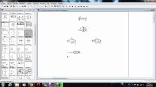 getlinkyoutube.com-FLUID SIM 2.2 Mando indirecto cilindro de doble efecto