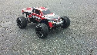 getlinkyoutube.com-Traxxas stampede 4x4 vxl run with Duratrax Wheels