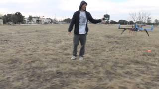 getlinkyoutube.com-APM 2.5 ArduCopter Quadcopter Return to Launch (RTL) Field Test in Windy Conditions - Austin, TX