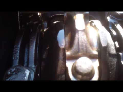 Мотор ОМ 102.961 карачун вкладышам. Часть 1