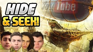 getlinkyoutube.com-YOUTUBERS PLAY TEAM HIDE AND SEEK ON A FLYING SHIP! (BLACK OPS 3 DLC)