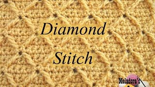 getlinkyoutube.com-Diamond Stitch   Crochet Tutorial