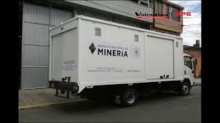 Carrocería Tipo Furgón Unidad de Rescate y Salvamento Minero - MPG Carrocerías