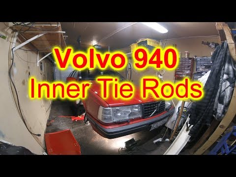 Inner and outer Tie Rod replacement. Volvo 940