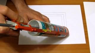 getlinkyoutube.com-Как сделать прокладку из силикона.