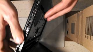 Разборка, чистка системы охлаждения Lenovo s205.  Часть 1