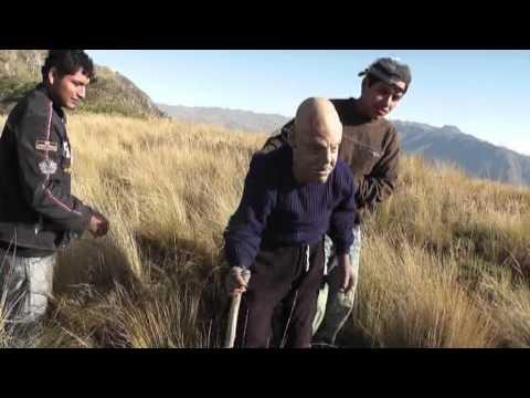 extraterrestre capturado en la merced churcampa en el cerro torongana