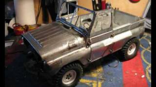 getlinkyoutube.com-UAZ 469b RC 1:10 FULL METAL BUILD (Part 1 of 2)
