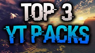 TOP 3 YOUTUBER TEXTURE PACKS | Minecraft | Chrom
