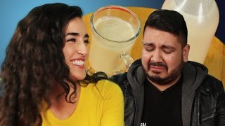 getlinkyoutube.com-Latinos Try Coquito For The First Time