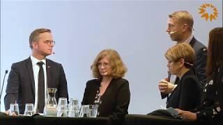 Nationella innovationsrådet 2018 Skellefteå - Panelsamtal om utvinning och förädling