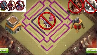 "getlinkyoutube.com-CLASH OF CLANS - TOWN HALL 8 (TH 8) WAR BASE,""SPEED BUILD"", NEW DESIGN, ANTI 3 STARS BEST BASE"