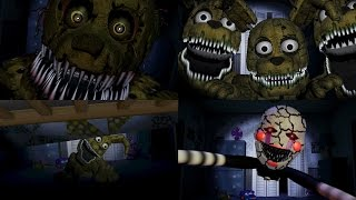 getlinkyoutube.com-FNaF Custom Jumpscares COMPILATION | FNAF 4 | WayTwo
