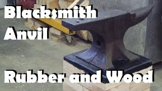 getlinkyoutube.com-100 year old blacksmith anvil gets a new home