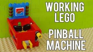 getlinkyoutube.com-How To Build A Working Lego Pinball Machine