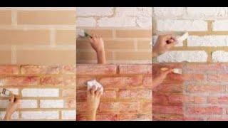 getlinkyoutube.com-Como fazer Textura com efeito tijolinho parte 1