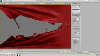 Video tutorial: Tearing cloth in 3ds max 2011 (no audio)