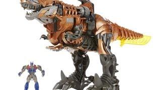 getlinkyoutube.com-Grimlock - Stomp & Chomp - Transformers Age of Extinction