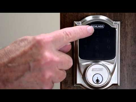 Schlage Connect™ Deadbolt Factory Reset Procedure
