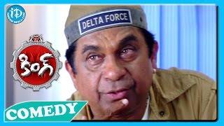 getlinkyoutube.com-Brahmanandam Back To Back Funny Scenes - King Movie || Telugu