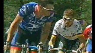 getlinkyoutube.com-Tour de France 2001 Lance Armstrong Alpe D'Huez 1/5