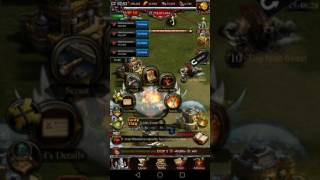 getlinkyoutube.com-Clash of kings - Kingdom Conquest - K1305 VS K414