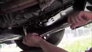 getlinkyoutube.com-2011 Nissan Altima 2.5 SL CVT Drain and Refill