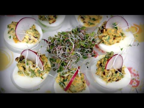 Jajka Wielkanocne z suszonymi pomidorami