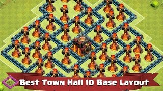 getlinkyoutube.com-Clash of Clans - Town Hall 10 Base Layout Tips! Episode 127