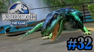 getlinkyoutube.com-Update Time & Ophiacodon Battle!!! | Jurassic World - The Game | #32
