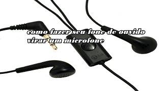 getlinkyoutube.com-Como usar seu fone de ouvido como microfone