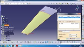 getlinkyoutube.com-TAPERED AND SWEPT WING MODELING IN CATIA V5