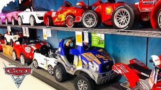 getlinkyoutube.com-Toy cars disney collection, lightning mcqueen, ferrari, mini, audi R8