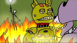 getlinkyoutube.com-Болезнь Спрингтрапа - 5 Ночей с Фредди [Комикс на русском] | ФНАФ Комикс