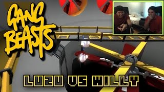 LA TURBINA NOS ABSORBE!! Gang Beasts con Willyrex - [LuzuGames]