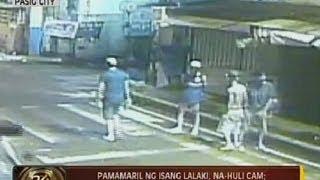 24 Oras: Exclusive: Pamamaril ng isang lalaki, na-huli cam; isa, sugatan