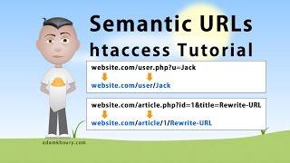 getlinkyoutube.com-Semantic URL htaccess Tutorial SEO Friendly Clean Links Rewrite