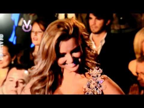 Marjorie D Sosa ,jurado del Miss Venezuela 2011, luciendo uno de mis trajes